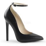 Negro Mate 13 cm SEXY-23 Zapato Salón Clasico para Mujer