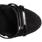 Negro Rojo 18 cm ADORE-762 Corse Zapatos Tacón Aguja