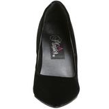 Negro Terciopelo 10 cm VANITY-420 zapatos de salón puntiagudos