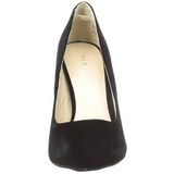 Negro Terciopelo 13 cm AMUSE-20 zapatos tacón de aguja puntiagudos