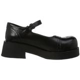 Negros 5 cm CRUX-07 calzados góticos lolita