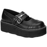 Negros 5 cm EMILY-306 calzados góticos lolita