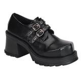 Negros 7 cm TRUMP-101 lolita zapatos mujer calzados góticos suela gruesa