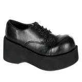 Negros 8,5 cm DANK-101 lolita zapatos mujer calzados góticos suela gruesa
