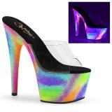 Neon 18 cm ADORE-701GXY pantuflas de tacón pole dance