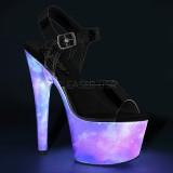 Neon 18 cm ADORE-708REFL Zapatos con tacones pole dance