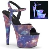 Neon 18 cm ADORE-709REFL Zapatos de striptease