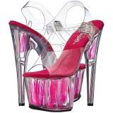 Neon Rosa 18 cm Pleaser ADORE-708FLM Tacones Altos Plataforma