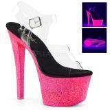 Neon purpurina 18 cm Pleaser SKY-308UVG Zapatos con tacones pole dance