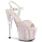 Ópalo purpurina plataforma 18 cm ADORE-710G zapatos para pole dance y striptease