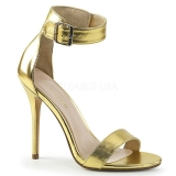 Oro 13 cm AMUSE-10 Zapatos para travestis