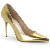 Oro Mate 10 cm CLASSIQUE-20 Zapatos de Salón para Hombres