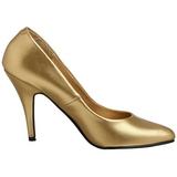 Oro Mate 10 cm VANITY-420 Zapatos de Salón para Hombres