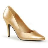 Oro Mate 10 cm VANITY-420 zapatos de salón puntiagudos