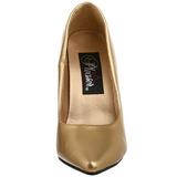 Oro Mate 13 cm SEDUCE-420 Zapatos de Salón para Hombres