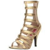 Oro Polipiel 10 cm DREAM-438 botines tallas grandes