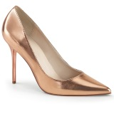 Oro Rosa 10 cm CLASSIQUE-20 Zapatos de Salón para Hombres