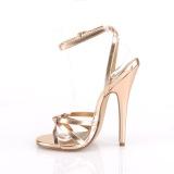 Oro Rosa 15 cm DOMINA-108 zapatos fetiche con tacones altos