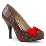 Patron de Cerezos 11,5 cm PINUP-05 zapatos de salón tallas grandes