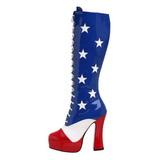 Patron de USA 13 cm ELECTRA-2030 Botas de Cordones Mujer