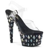 Piedra strass 18 cm Pleaser ADORE-708DIA Zapatos con tacones pole dance
