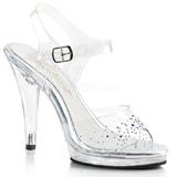 Piedras strass 11,5 cm FLAIR-408SD Zapatos para travestis