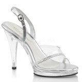 Piedras strass 11,5 cm FLAIR-456 Zapatos para travestis