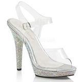 Piedras strass 13 cm LIP-108DM Zapatos de tacón altos mujer