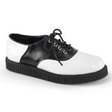 Piel 2,5 cm CREEPER-606 Zapatos de Creepers Hombres Plataforma