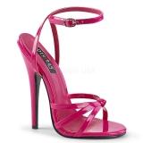 Pink 15 cm Devious DOMINA-108 sandalias de tacón alto