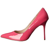 Pink Charol 10 cm CLASSIQUE-20 Stiletto Zapatos Tacón de Aguja