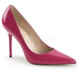 Pink Charol 10 cm CLASSIQUE-20 zapatos puntiagudos tacón de aguja