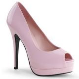 Pink Charol 13,5 cm BELLA-12 Stiletto Zapatos Tacón de Aguja