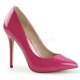 Pink Charol 13 cm AMUSE-20 Stiletto Zapatos Tacón de Aguja