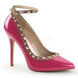 Pink Charol 13 cm AMUSE-28 Zapato Salón Clasico para Mujer