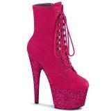 Pink glitter 18 cm ADORE-1020FSMG exotic botines de pole dance