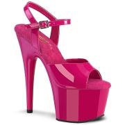 Pink plataforma 18 cm ADORE-709 tacones altos pleaser