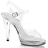 Plata 11,5 cm FLAIR-408 Zapatos para travestis