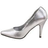 Plata Mate 10 cm VANITY-420 Zapatos de Salón para Hombres