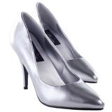 Plata Mate 10 cm VANITY-420 zapatos de salón puntiagudos