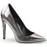 Plata Mate 11,5 cm VOLTAGE-01 Zapato Salón Clasico para Mujer