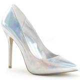 Plata Mate 13 cm AMUSE-20 zapatos tacón de aguja puntiagudos
