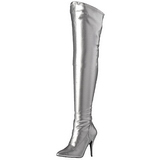 Plata Mate 13 cm SEDUCE-3000 over knee botas altas con tacón