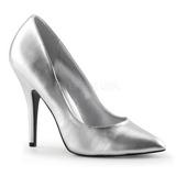 Plata Mate 13 cm SEDUCE-420 Zapato de Salón para Hombres