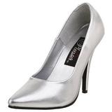 Plata Mate 13 cm SEDUCE-420 Zapatos de Salón para Hombres