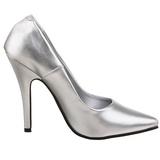 Plata Mate 13 cm SEDUCE-420 zapatos de salón puntiagudos