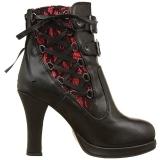 Polipiel 10 cm CRYPTO-51 lolita góticos botines suela gruesa