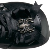Polipiel 11,5 cm DEMONIA CHARADE-150 botas góticos con remaches