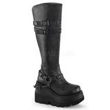 Polipiel 11,5 cm SHAKER-101 lolita botas góticos botas con suela gruesa