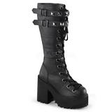 Polipiel 12 cm ASSAULT-202 lolita botas góticos botas con suela gruesa